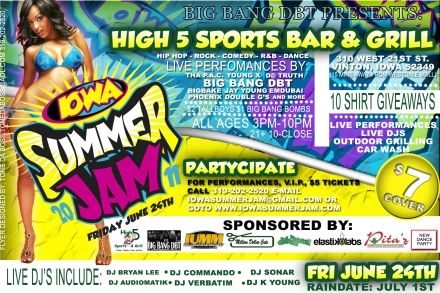 Iowa Summer Jam Flyer 1